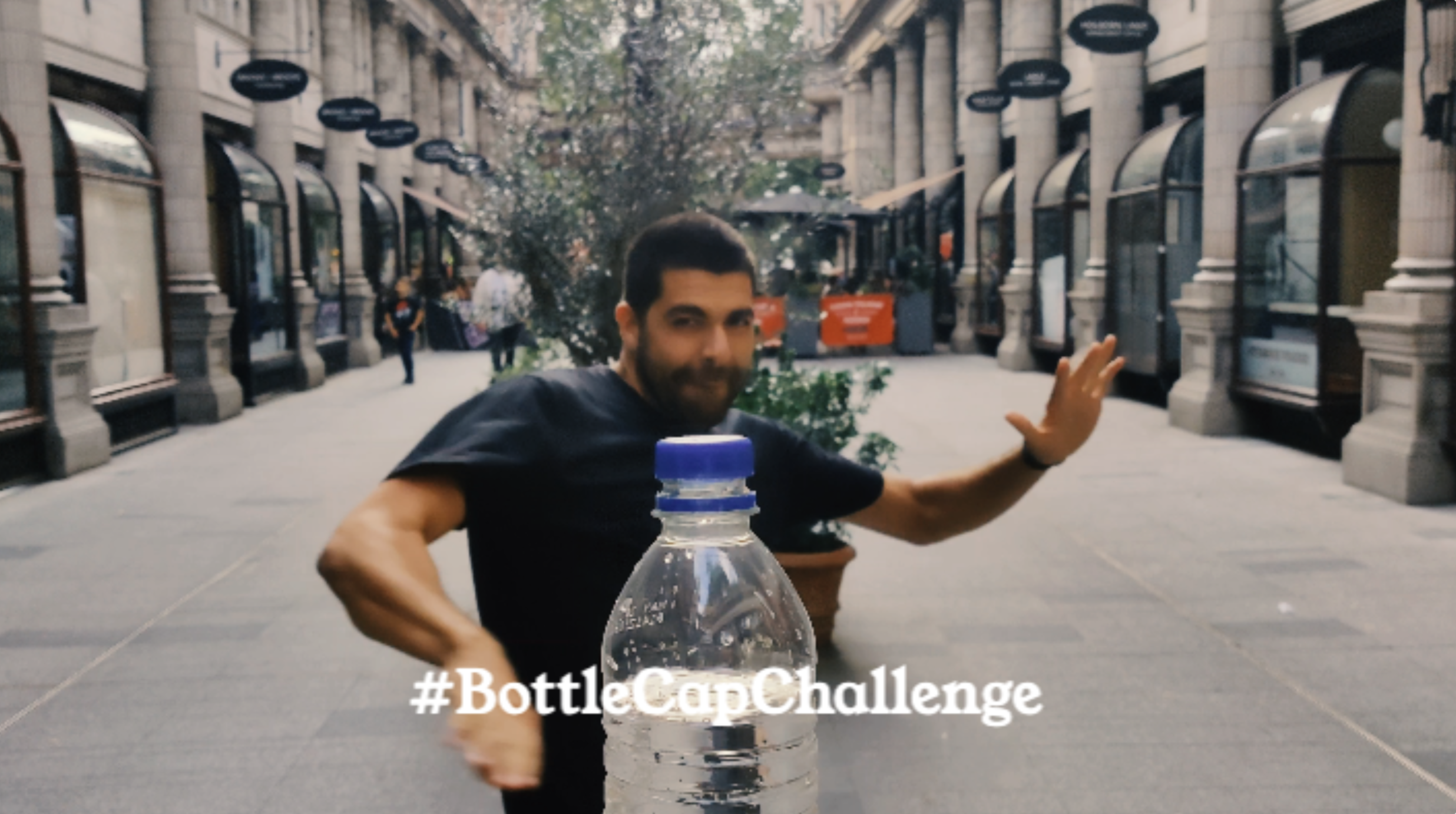 How to do the bottle cap challenge