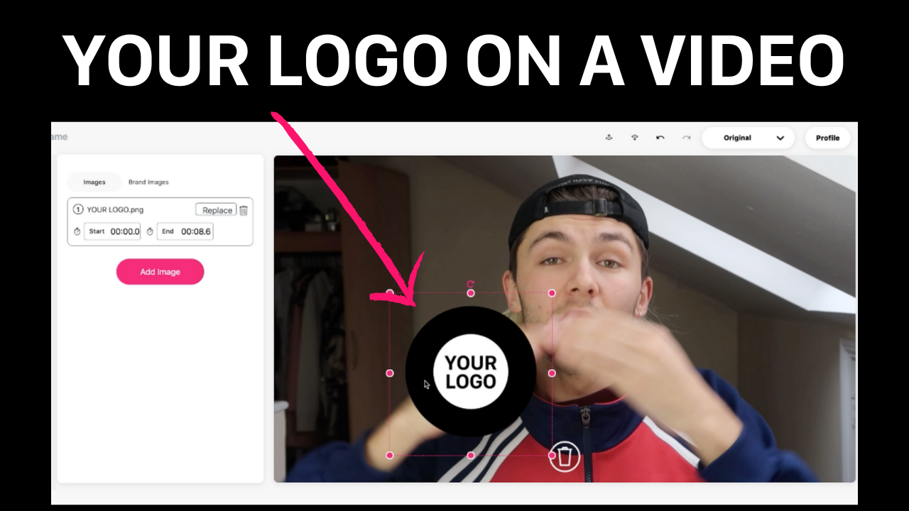How to add your logo to a video