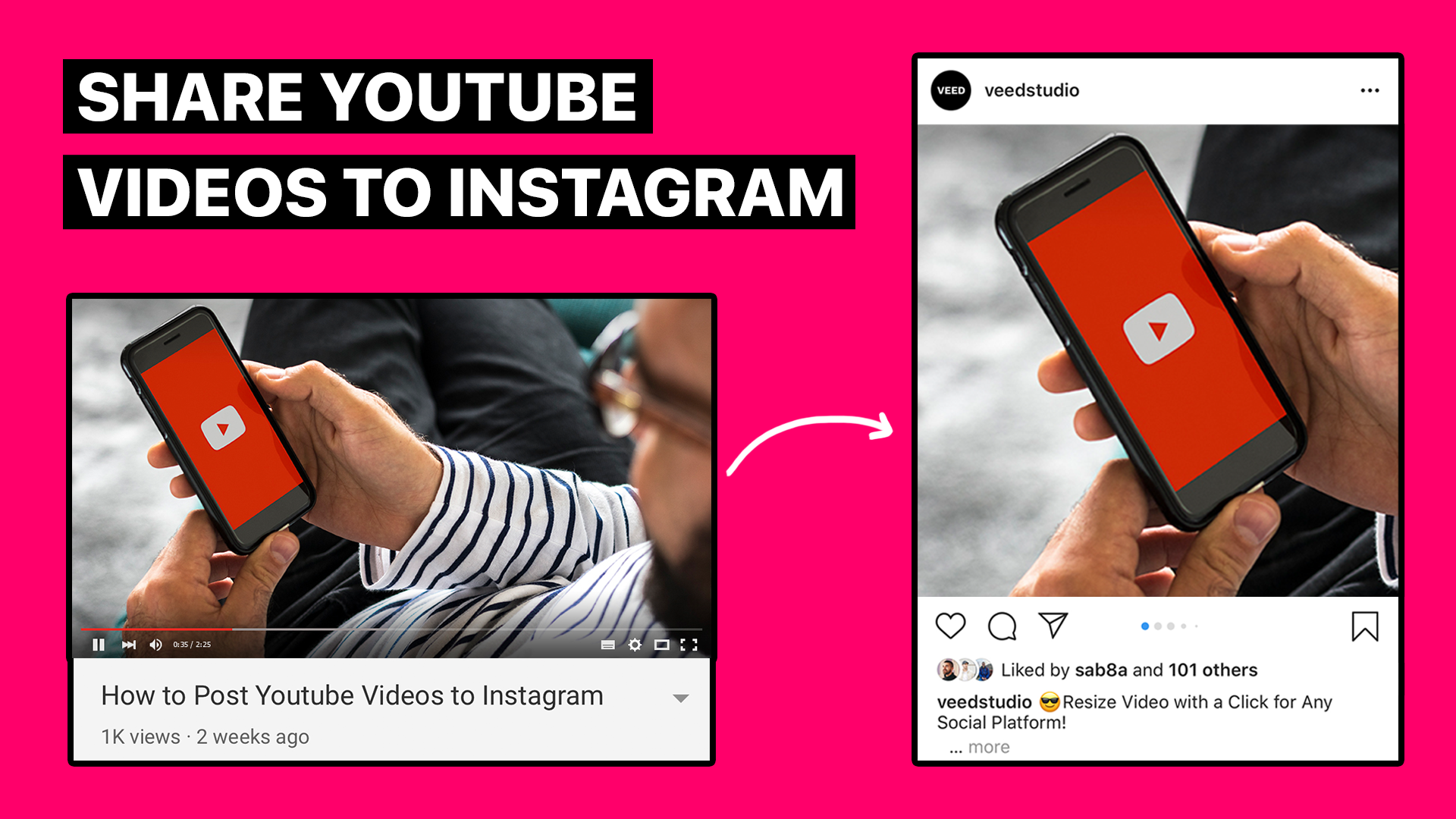 How to Convert Video from YouTube to Instagram