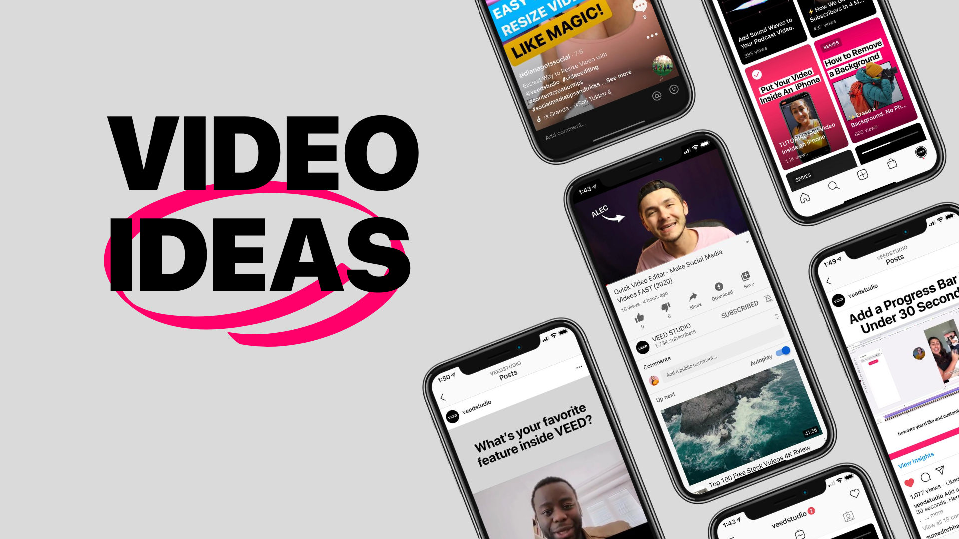 10 Video Project Ideas to Attract an Online Following