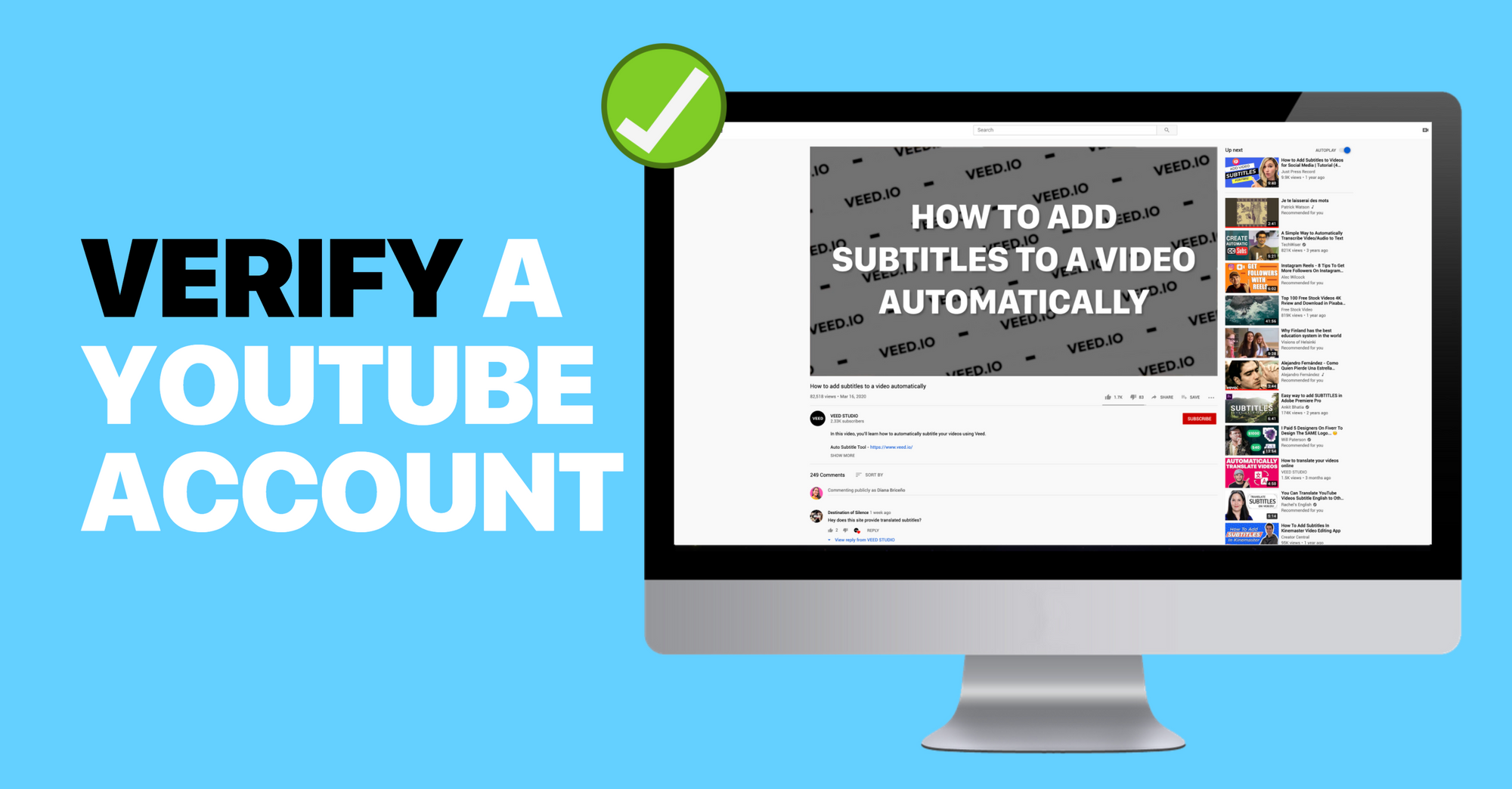 How to Verify YouTube Account (LATEST + with Pictures)
