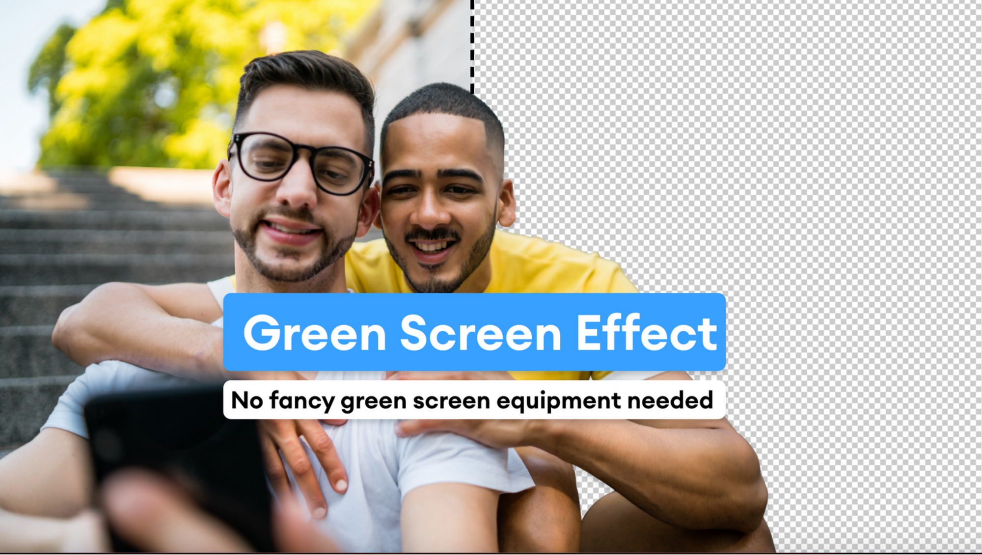 How To Use Green Screen Editor Online In Seconds