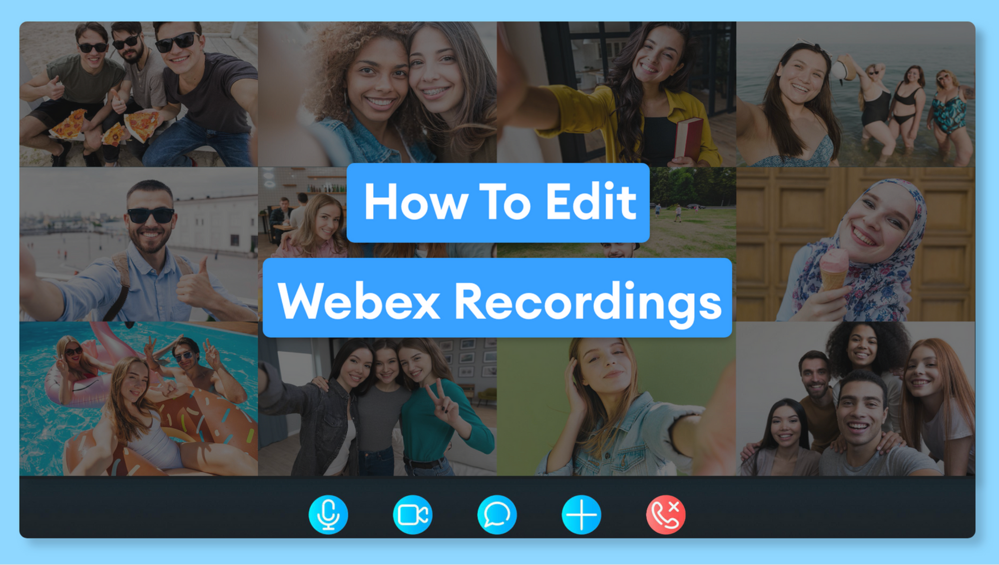 How To Use WebEx Recording Editor (Quick and Easy)